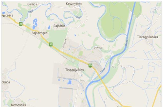 tiszaújváros térkép Tiszaújváros ingatlan hirdetések, térkép   ingyenes ingatlan  tiszaújváros térkép