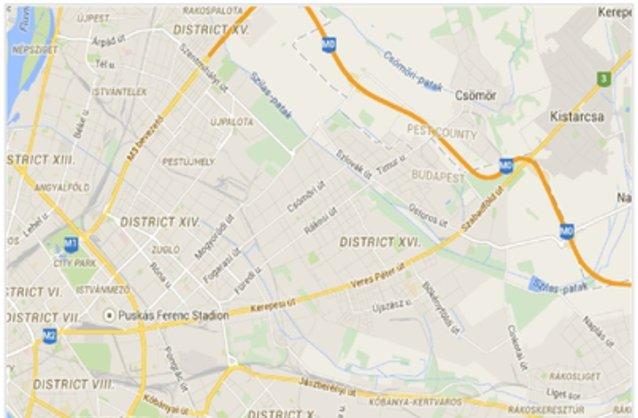 16 kerület térkép Budapest XVI. kerület ingatlan hirdetések, térkép   ingyenes  16 kerület térkép