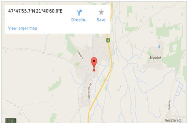 újfehértó térkép Újfehértó ingatlan hirdetések, térkép   ingyenes ingatlan hirdetés  újfehértó térkép
