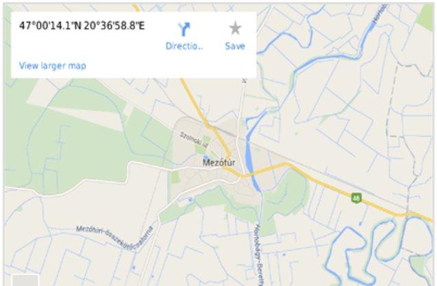térkép mezőtúr Mezőtúr ingatlan hirdetések, térkép   ingyenes ingatlan hirdetés