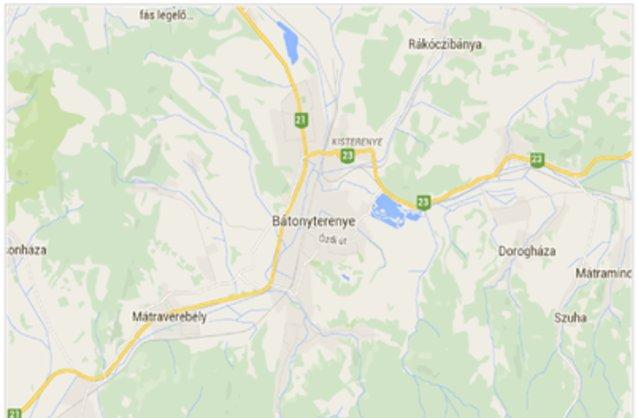 bátonyterenye térkép Bátonyterenye ingatlan hirdetések, térkép   ingyenes ingatlan  bátonyterenye térkép