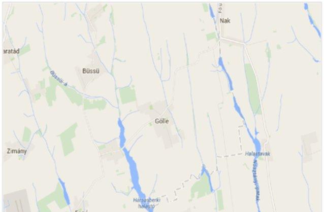 Statikus Gölle térképe