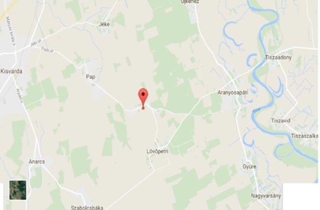 tornyospálca térkép Nyírlövő ingatlan hirdetések, térkép   ingyenes ingatlan hirdetés