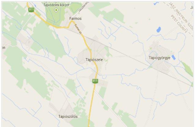 tápiószele térkép Tápiószele ingatlan hirdetések, térkép   ingyenes ingatlan  tápiószele térkép