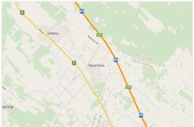 táborfalva térkép Táborfalva ingatlan hirdetések, térkép   ingyenes ingatlan  táborfalva térkép