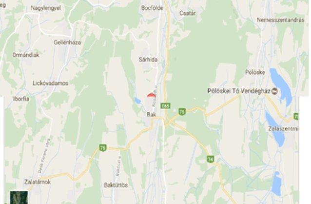 bak térkép Bak ingatlan hirdetések, térkép   ingyenes ingatlan hirdetés feladás