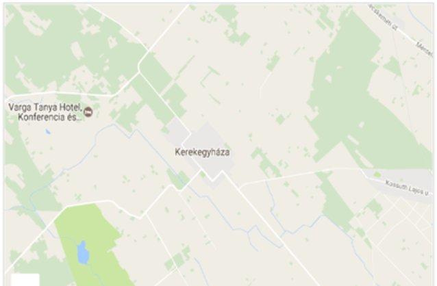 kerekegyháza térkép Kerekegyháza ingatlan hirdetések, térkép   ingyenes ingatlan  kerekegyháza térkép