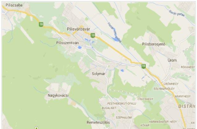 solymár térkép Solymár ingatlan hirdetések, térkép   ingyenes ingatlan hirdetés  solymár térkép