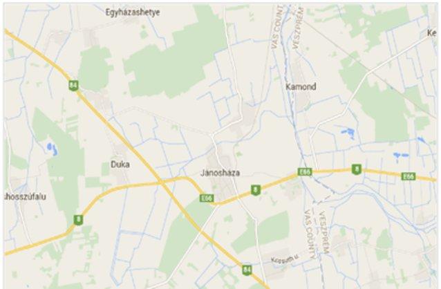 jánosháza térkép Jánosháza ingatlan hirdetések, térkép   ingyenes ingatlan hirdetés  jánosháza térkép