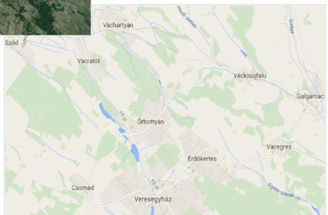 őrbottyán térkép Őrbottyán ingatlan hirdetések, térkép   ingyenes ingatlan hirdetés  őrbottyán térkép