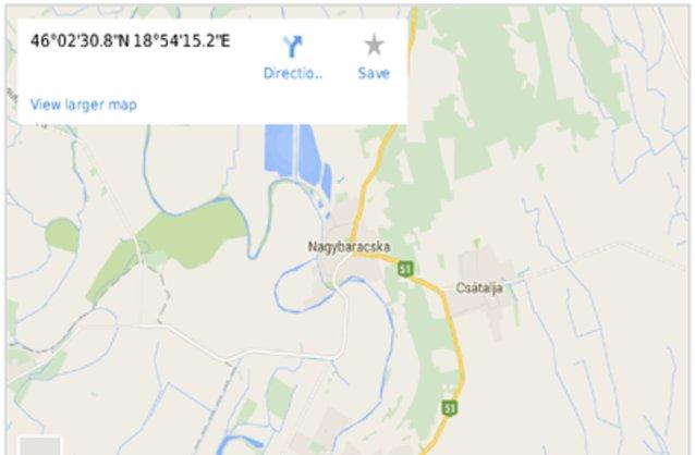 nagybaracska térkép Nagybaracska ingatlan hirdetések, térkép   ingyenes ingatlan