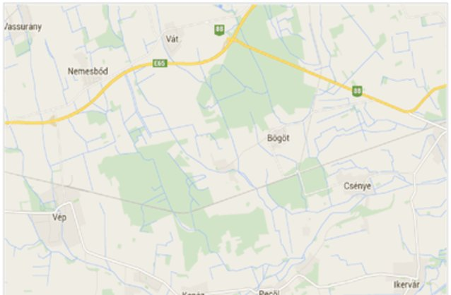 Statikus Porpác térképe