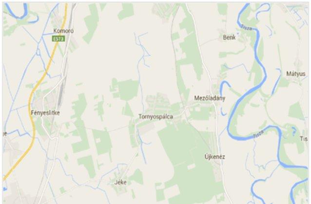 tornyospálca térkép Tornyospálca ingatlan hirdetések, térkép   ingyenes ingatlan