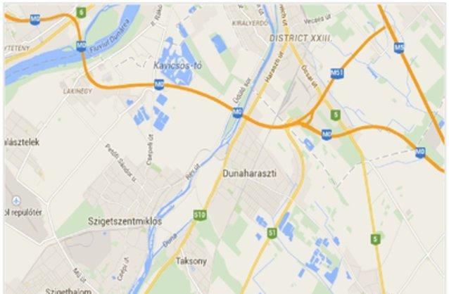 dunaharaszti térkép Dunaharaszti ingatlan hirdetések, térkép   ingyenes ingatlan