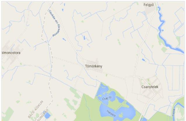 tömörkény térkép Tömörkény ingatlan hirdetések, térkép   ingyenes ingatlan hirdetés