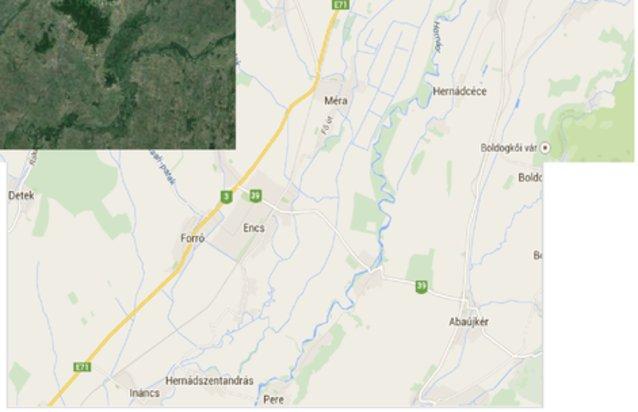 encs térkép Encs ingatlan hirdetések, térkép   ingyenes ingatlan hirdetés feladás encs térkép