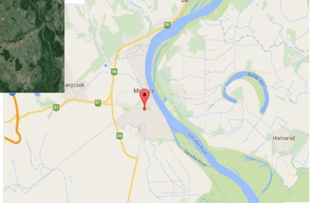 mohács térkép Mohács ingatlan hirdetések, térkép   ingyenes ingatlan hirdetés