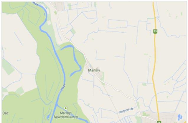 Statikus M�rt�ly térképe