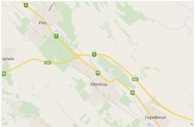 albertirsa térkép Albertirsa ingatlan hirdetések, térkép   ingyenes ingatlan  albertirsa térkép