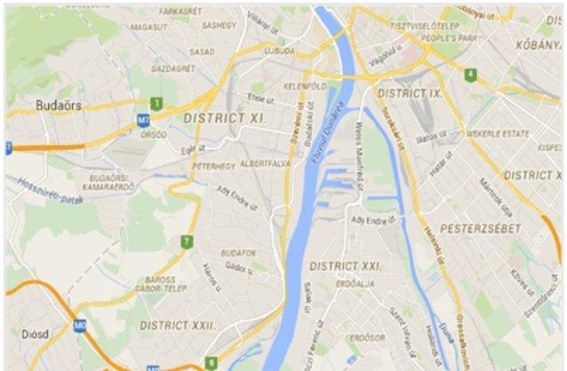 budapest 23 kerület térkép Budapest XXIII. kerület ingatlan hirdetések, térkép   ingyenes  budapest 23 kerület térkép