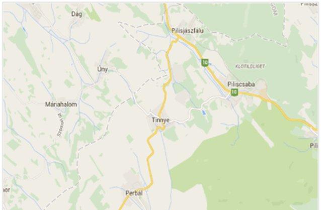 tinnye térkép Tinnye ingatlan hirdetések, térkép   ingyenes ingatlan hirdetés  tinnye térkép