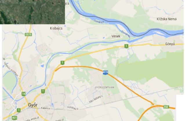 győrszentiván térkép Győrszentiván ingatlan hirdetések, térkép   ingyenes ingatlan  győrszentiván térkép