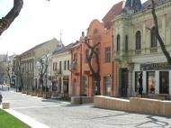 Szekszárd 2006.04.09 :: Szekszárd városnézés , séta a főutcán.