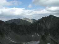 Tátra: Csorba-tó :: A Magas-Tátra megismerére céljából tettünk pár sétát az ott jelölt utakból. A Csorba-tó mellől indultunk: Csorba-tó (1355 m) - Fátyol-vízesés (1700 m) - Lorenz-hágó (2314 m) - Furkota-völgy - Szoliskó (1950 m) - Csorba-tó (1351 m)