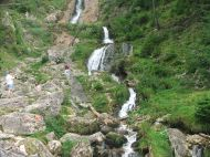 Erdély Lóhavasi-vízesés :: Erdély, Radnai-havasok, Lóhavasi-vízesés
